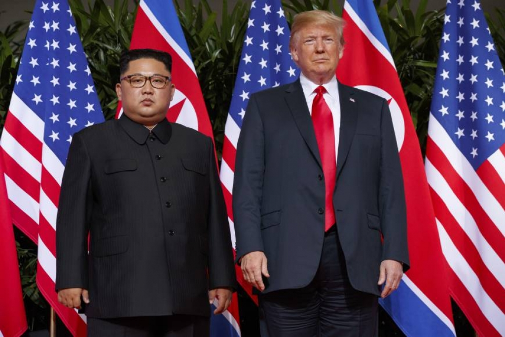 Rezultat slika za Kim Jong-un zbog Trumpa pogubio petericu svojih dužnosnika?