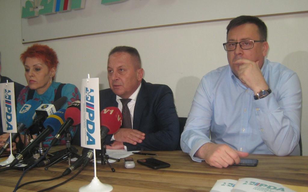 PDA o pregovorima sa SDA, manjinskoj vladi SDP-a i milion maraka