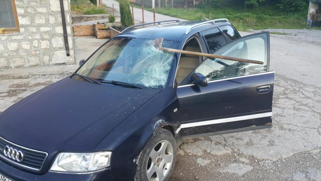 Sudbina napasti auto šibanje