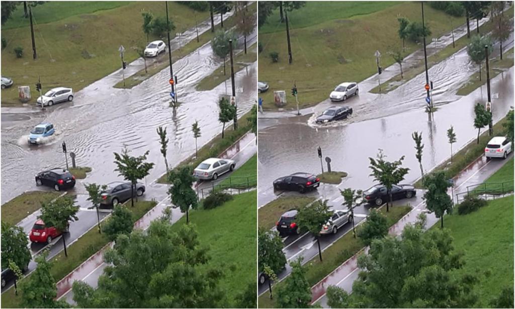 Ulice Sarajeva potopljene, zaustavljen saobraćaj prema Tuzli