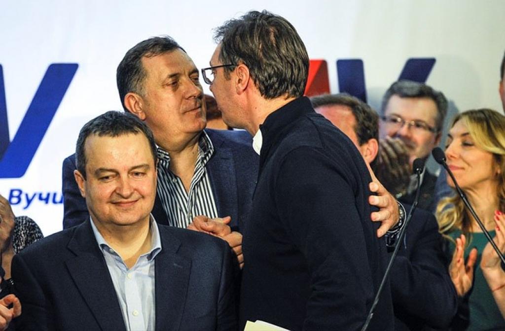 """Dodik i Vučić udruženi: Ne bi da im Drina bude granica, ali im smeta """"situacija kod Bošnjaka"""""""