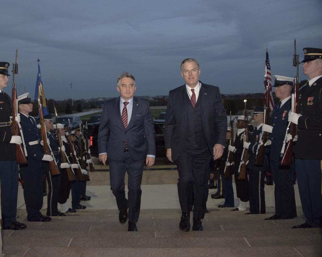 Poruka Pentagona jasna: BiH je ključni partner SAD-a u borbi protiv terorizma