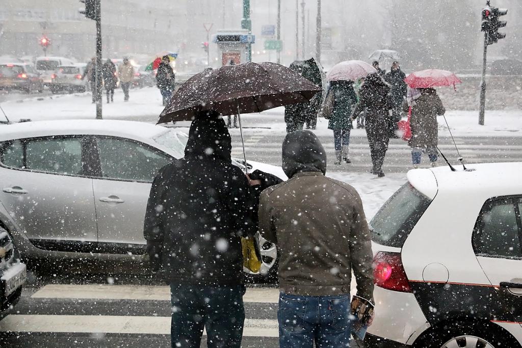 Vrijeme u BiH: Snijeg i hladno, tegobe kod hroničnih bolesnika će se pojačati