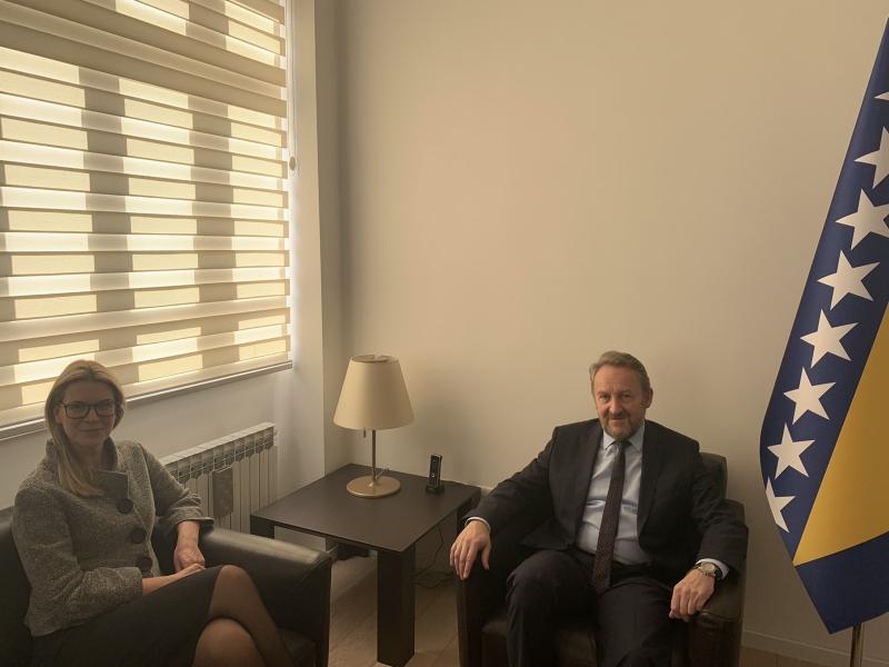 SUSRET IZETBEGOVIĆ-STRÖMQUIST! Švedska nastavlja pružati podršku procesima integracija BiH