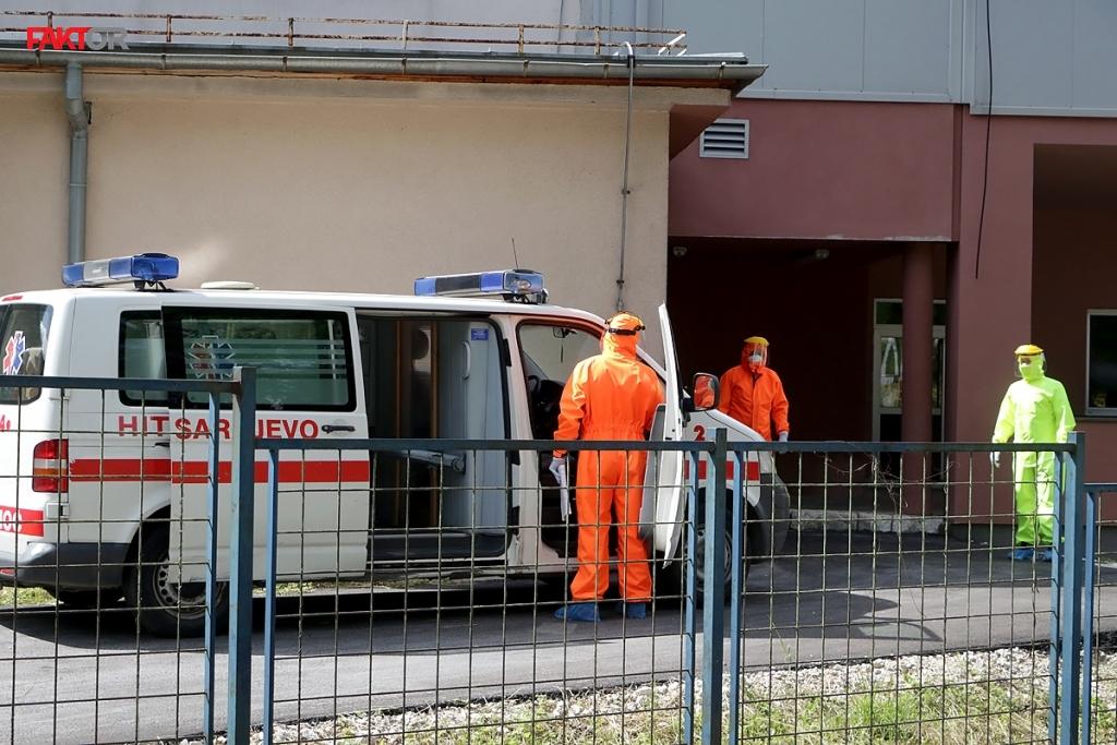 Alarmantni podaci: 225 zaraženih u Sarajevu, 20 bolesnika na Podhrastovima u teškom stanju