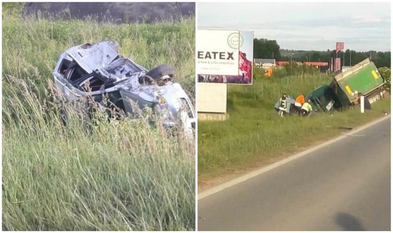 Stravična nesreća - Troje poginulih u sudaru dva auta i kamiona kod Lukavca