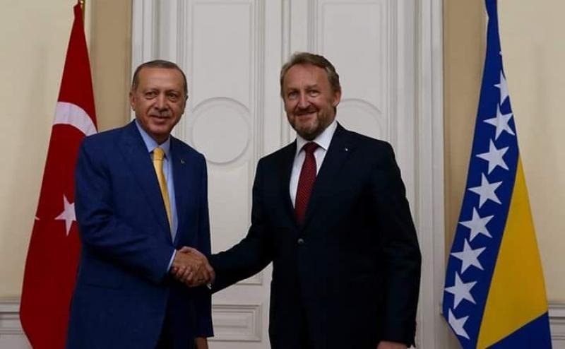 TELEFONSKI RAZGOVOR: Izetbegović i Erdogan o regionalnim temama i odnosima BiH i Turske