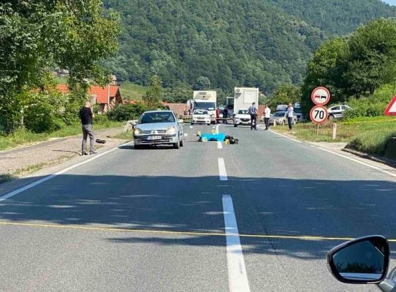 "Motociklist poginuo nakon sudara sa ""renaultom"""