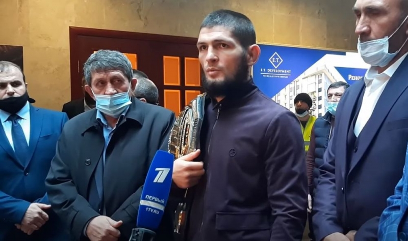 Khabib Nurmagomedov se otvorio ruskim novinarima: Mogu ja zaraditi novac i sam