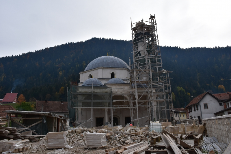 Obilježeno 450 godina od izgradnje džamije Sinan-paše Boljanića u Čajniču: Proučeno 40 jasina i dova