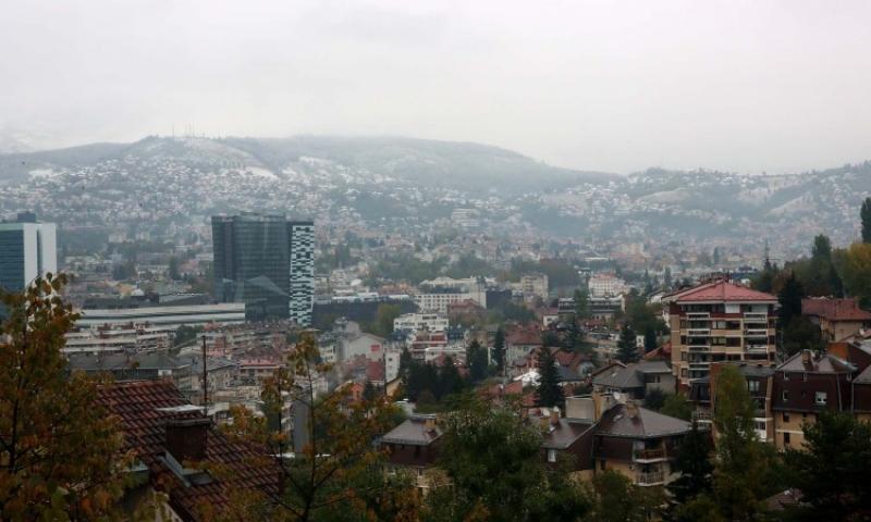 Faktor   Na sarajevskim brdima jutros osvanuo prvi ovosezonski snijeg