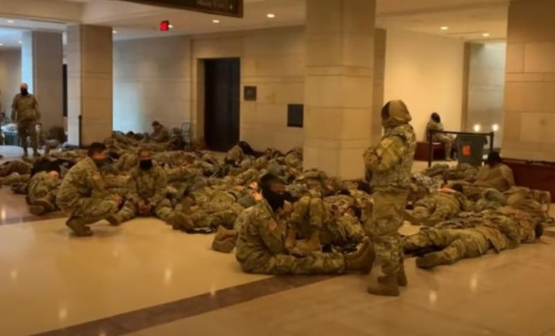 Američki Kongres kao vojna baza: Danas ga čuvaju vojnici naoružani do zuba