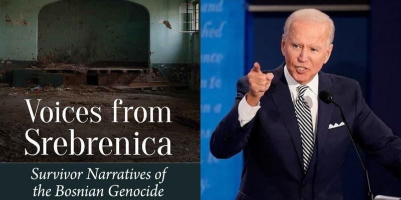 """Joe Bidenu uručena potpisana knjiga """"Glasovi iz Srebrenice"""""""