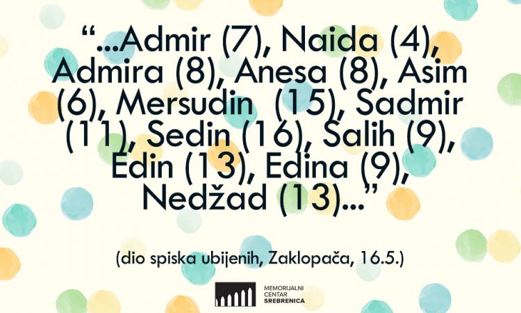 Obilježena 29. godišnjica zločina u selu Zaklopača: Ubijeno 59 civila, među kojima 12 djece