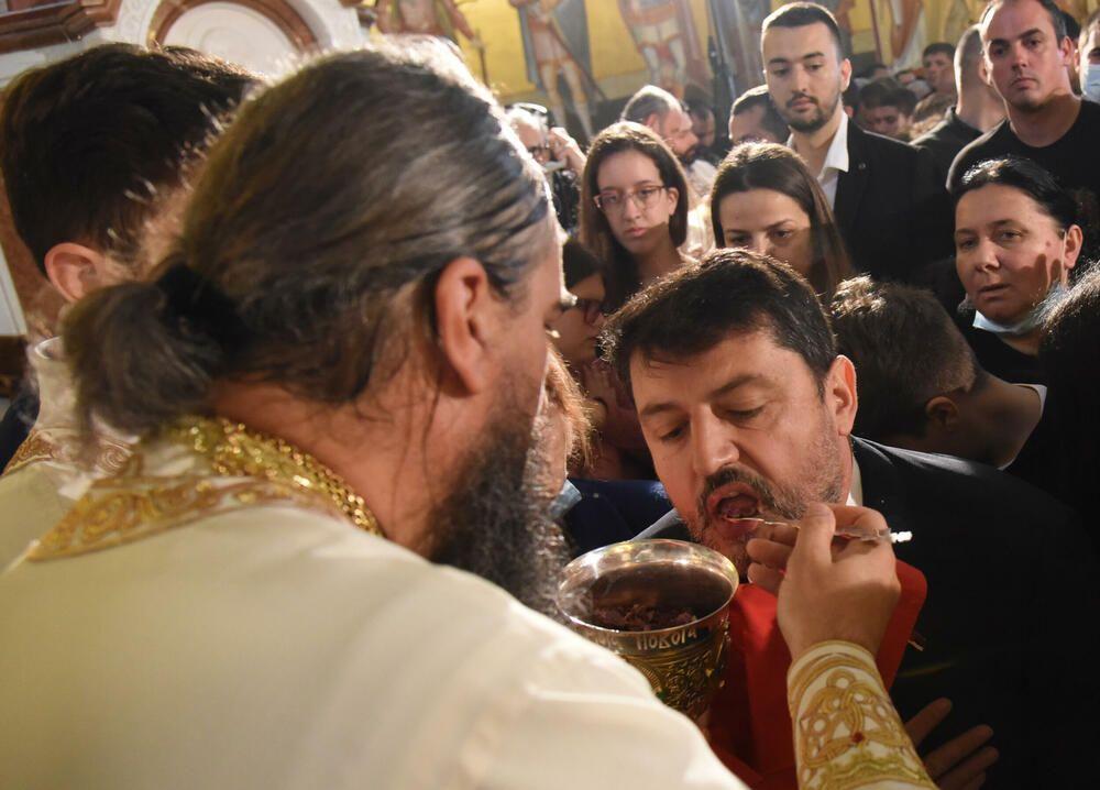 Liturgija u Crnoj Gori